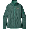 Patagonia W's Better Sweater Jacket Beryl Green w/Beryl Green